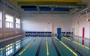 бассейн колледжа 55