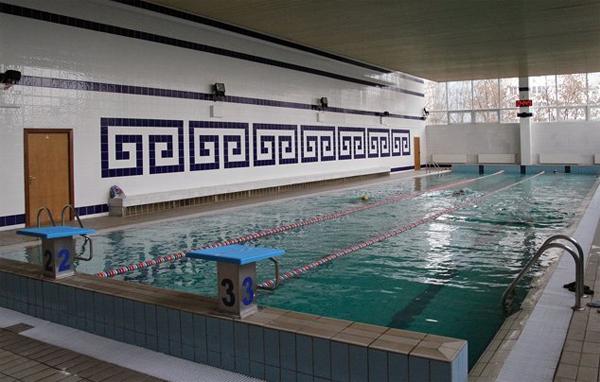 Бассейн в Москве Митино со справкой при бассейне