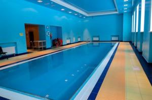 бассейн акварельки